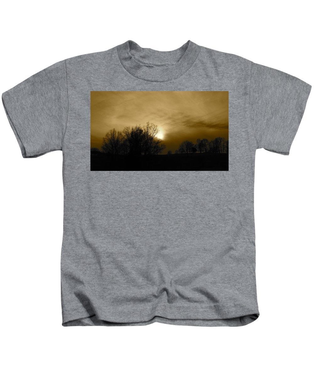 Sunset Kids T-Shirt featuring the photograph Sunset 2 by Kume Bryant