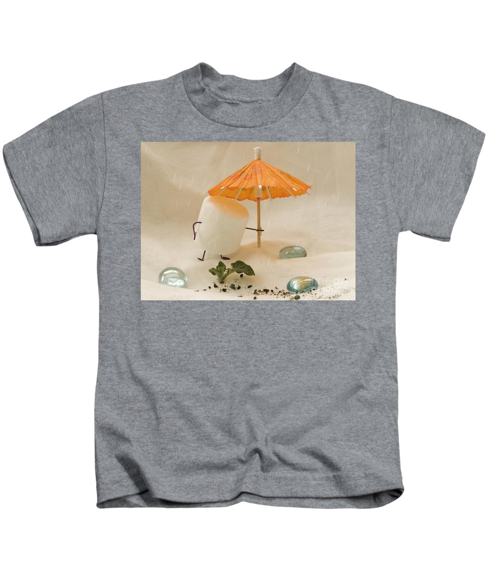 Spring Kids T-Shirt featuring the photograph Sweet Sprouts by Heather Applegate