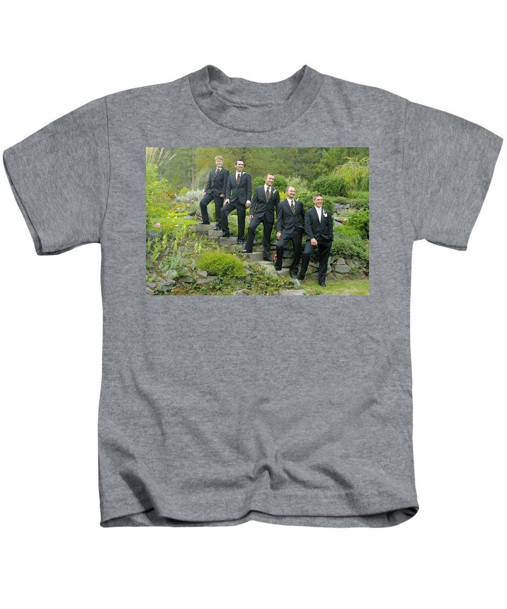 Kids T-Shirt featuring the photograph T And T 21 by John Greaves