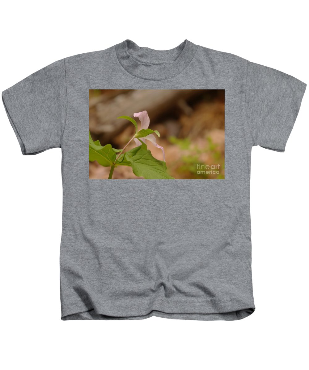 Floral Kids T-Shirt featuring the photograph The Backside Of by Jeff Swan
