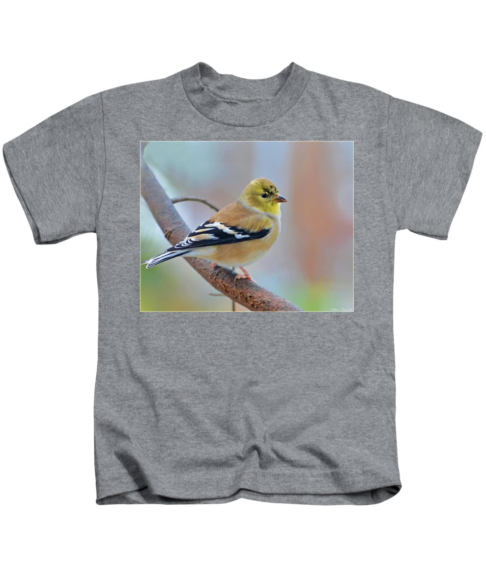 Nature Kids T-Shirt featuring the photograph Tiny Beauty by Debbie Portwood