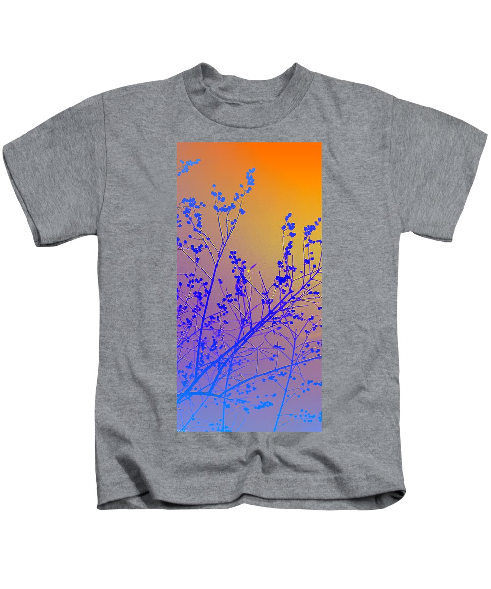 Tree Kids T-Shirt featuring the photograph Tree Art by Gray Artus