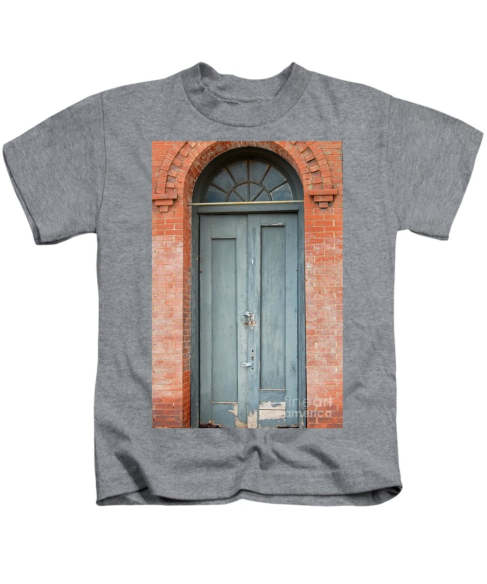 Door Kids T-Shirt featuring the photograph Unwelcome by Anjanette Douglas