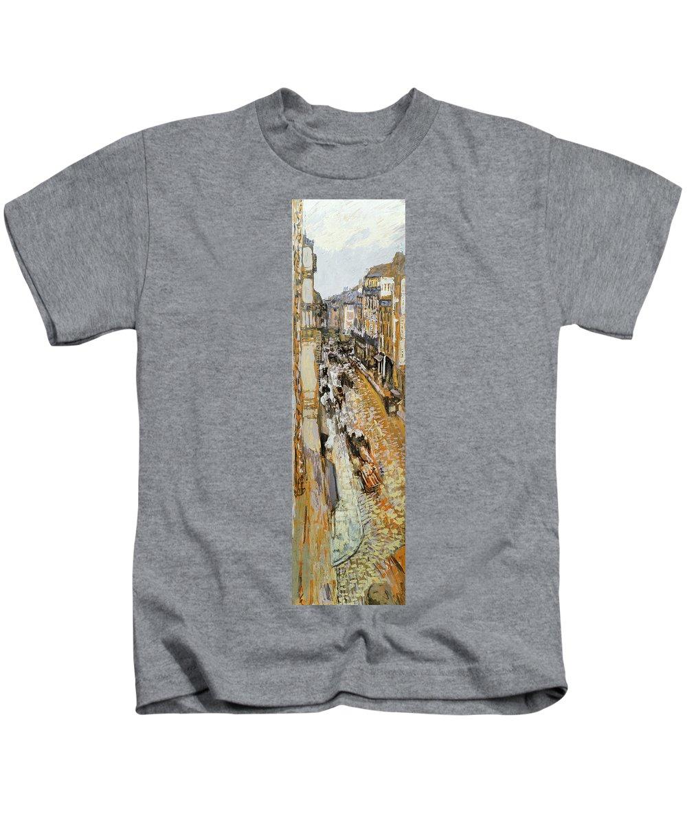 1908 Kids T-Shirt featuring the photograph Vuillard: Paris, 1908 by Granger