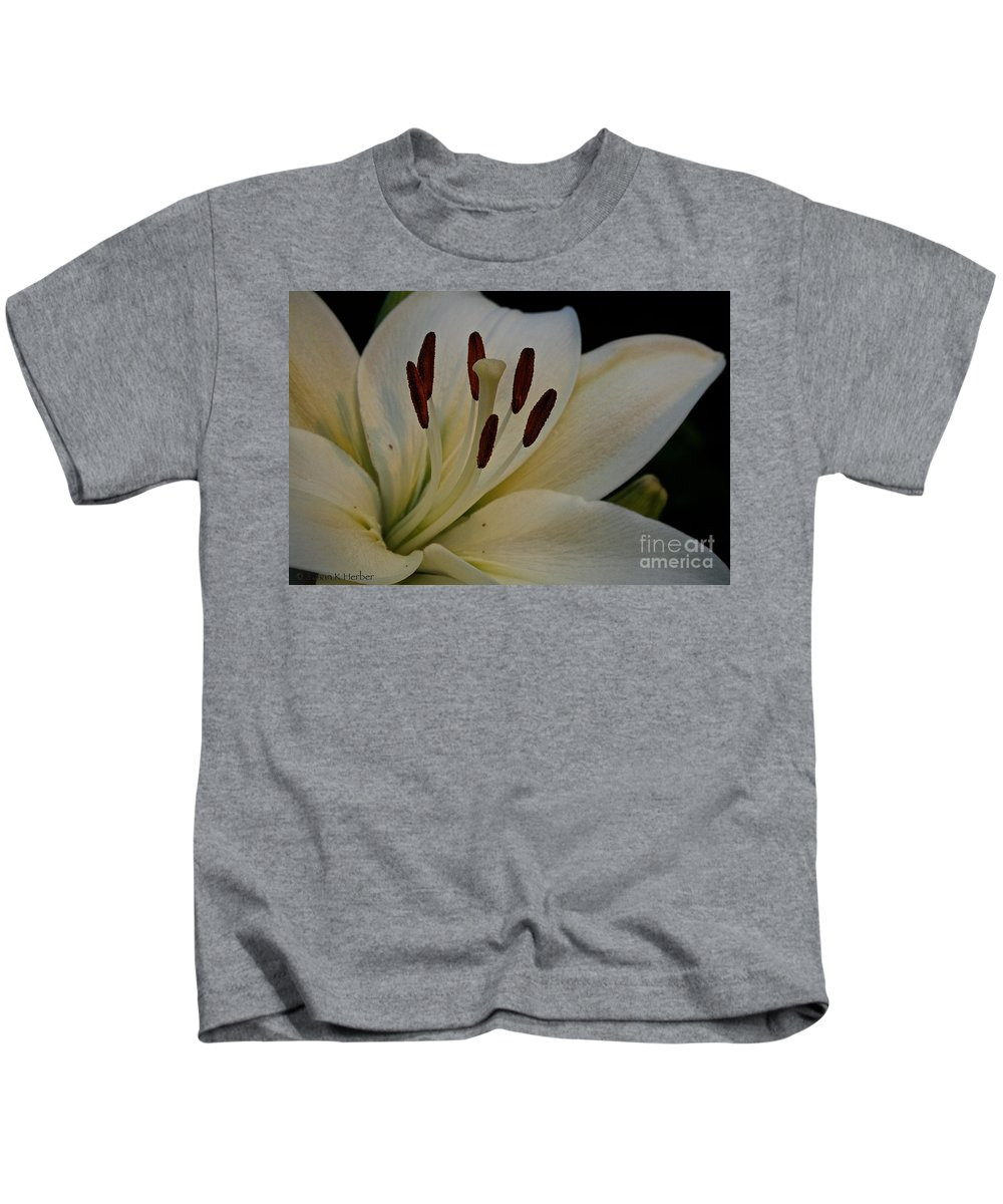 Outdoors Kids T-Shirt featuring the photograph White Knight by Susan Herber
