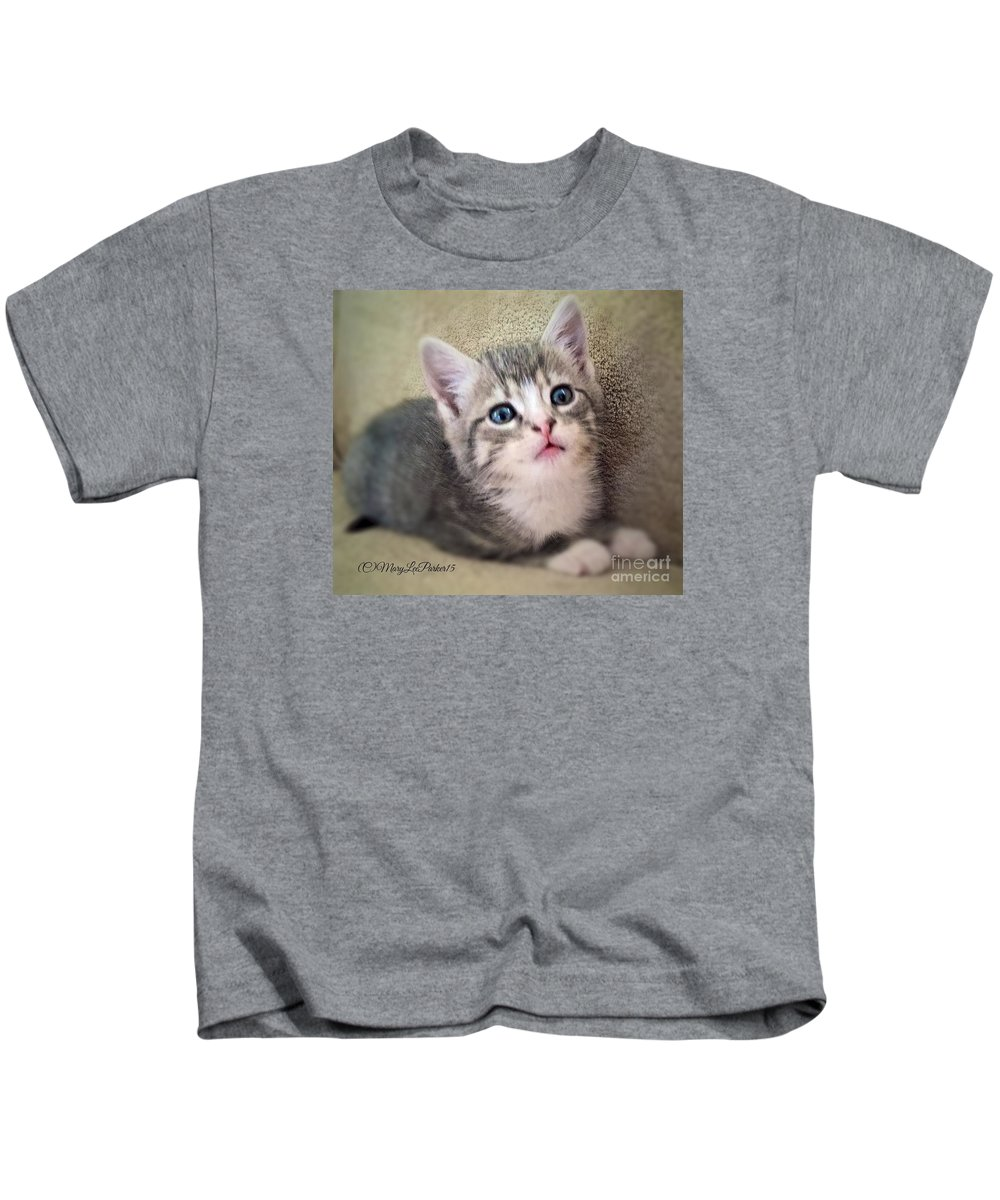 Photograph Kids T-Shirt featuring the photograph Innocence by MaryLee Parker