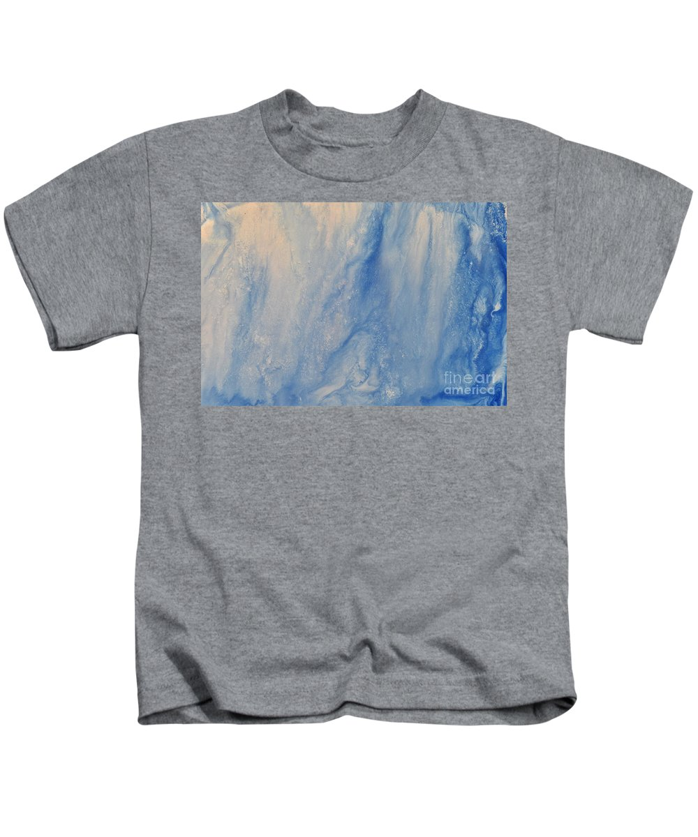 Acid Kids T-Shirt featuring the painting Acid Rain by Brion McMaster