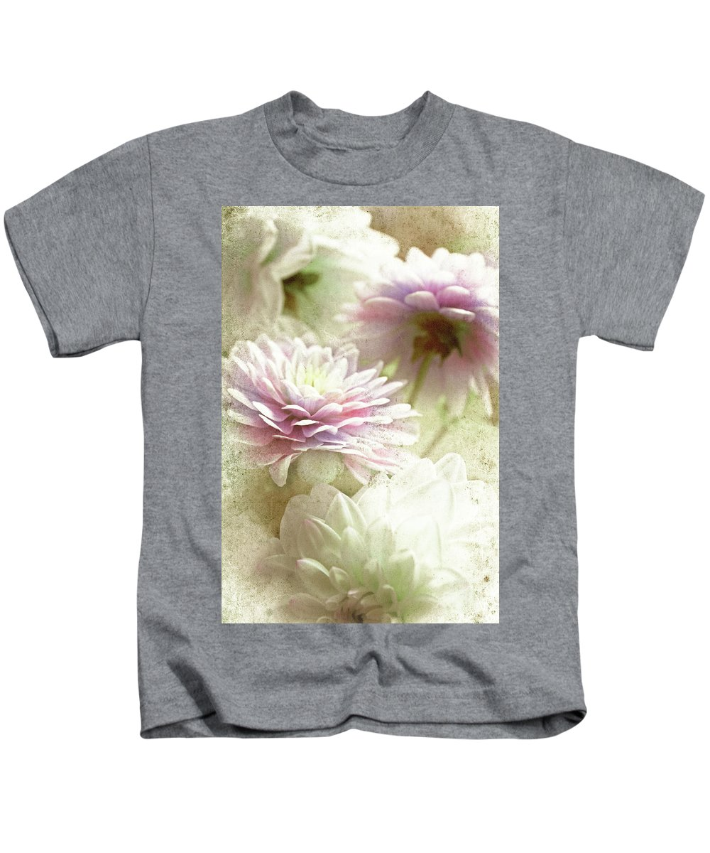 Asters Kids T-Shirt featuring the photograph Aster by Lali Kacharava