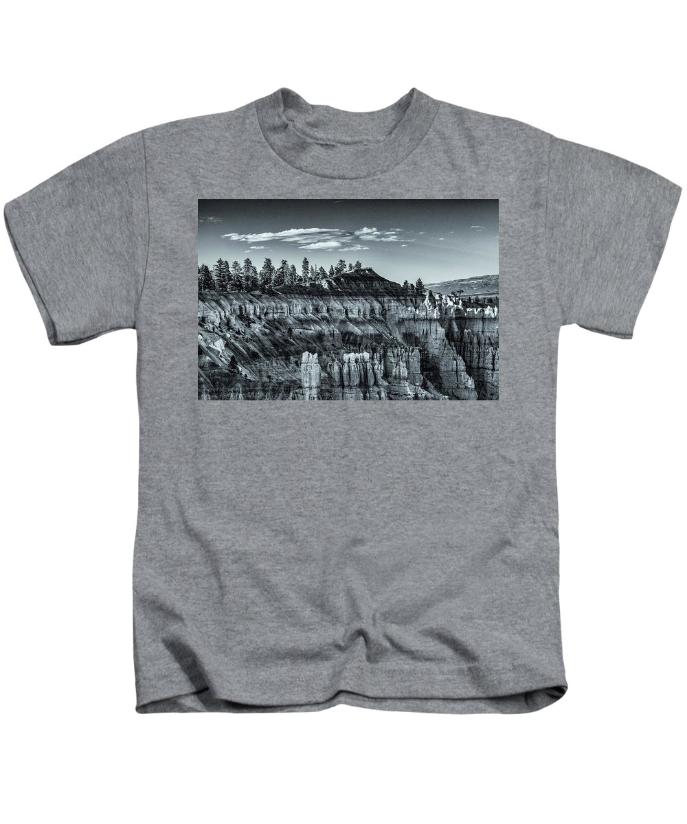 Bryce Canyon Kids T-Shirt featuring the photograph Bryce Canyon Amphitheater by Donald Pash