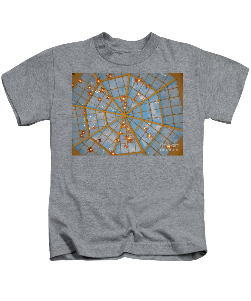 Glass Kids T-Shirt featuring the photograph Crystal Web by Maria Bonnier-Perez