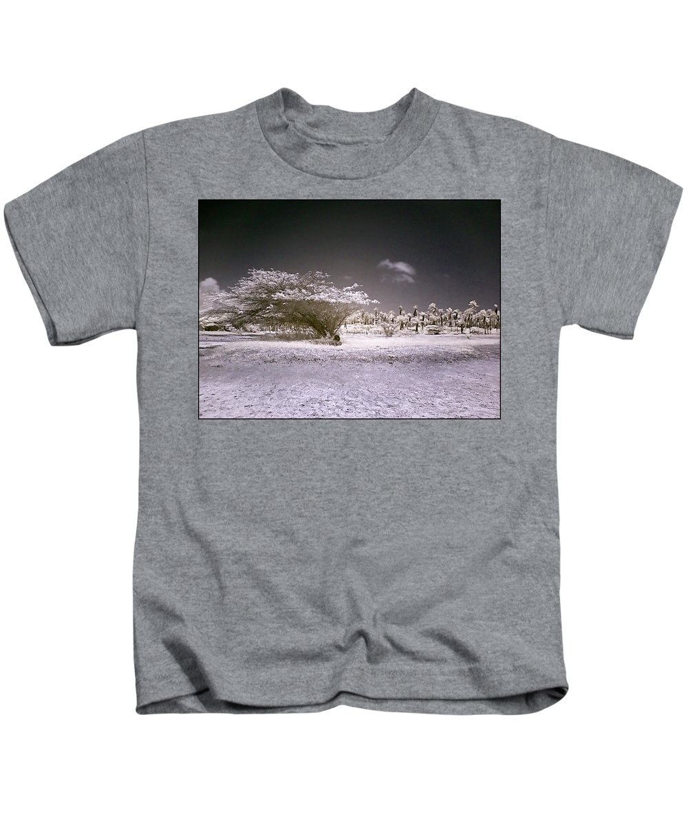 Desert Kids T-Shirt featuring the photograph Desertic Landscape by Galeria Trompiz