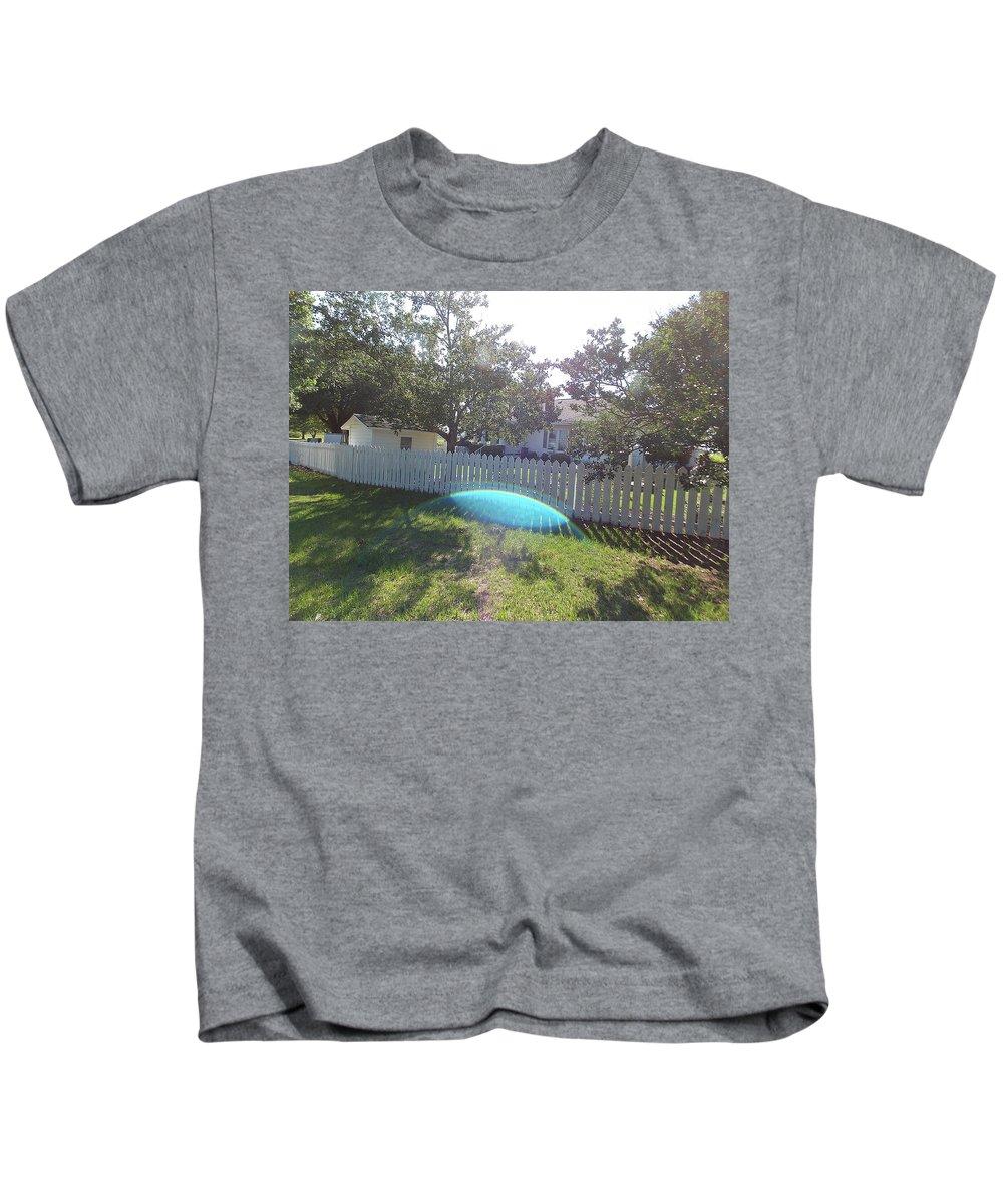 God Kids T-Shirt featuring the photograph Gods Backyard by Matthew Seufer