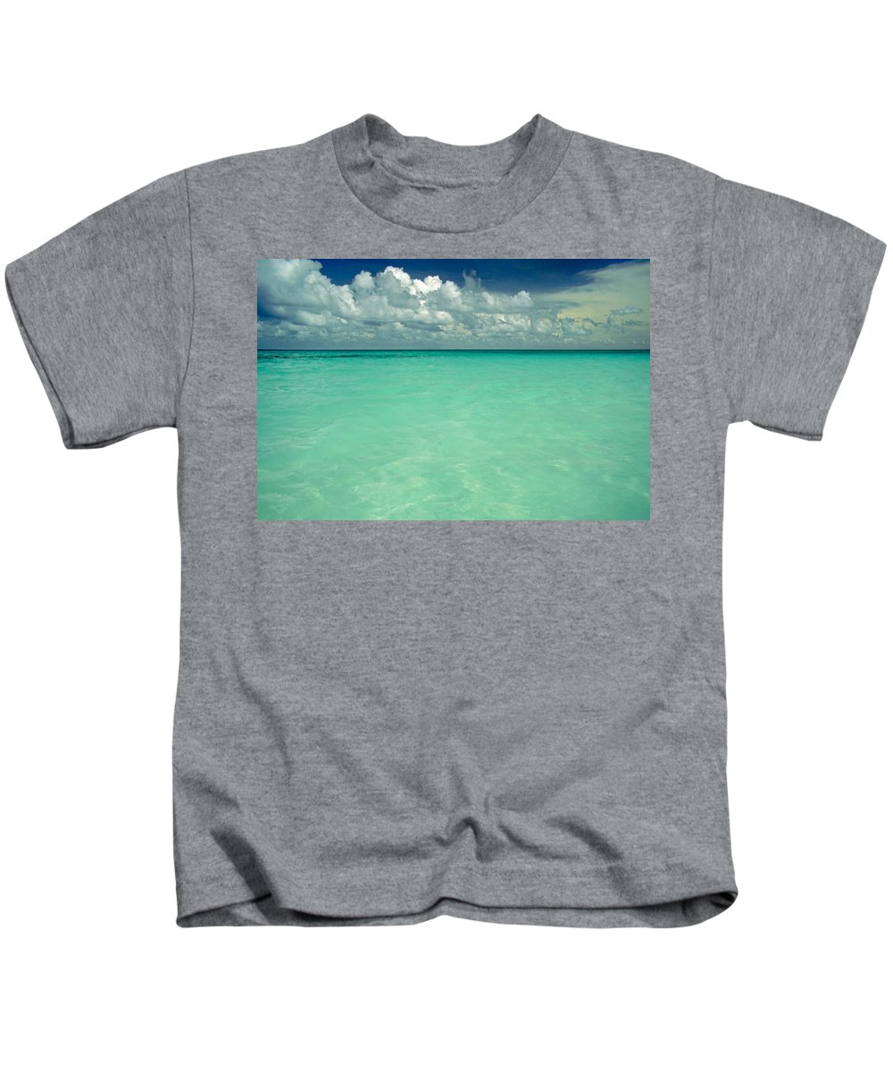 Belize Kids T-Shirt featuring the photograph Heaven by Skip Hunt
