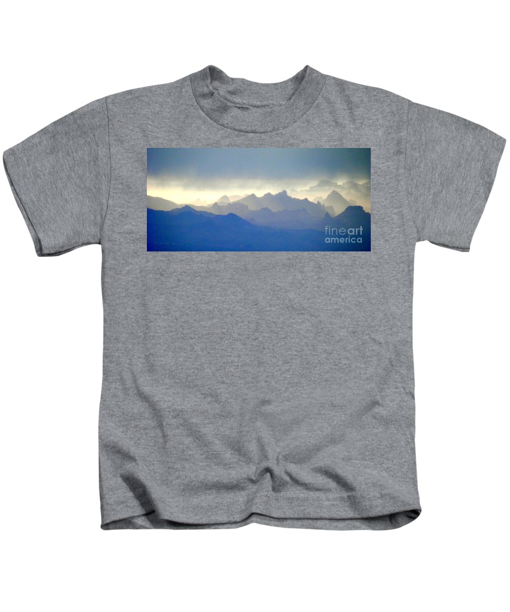 Cotton Cove Kids T-Shirt featuring the photograph Luminous by L Cecka