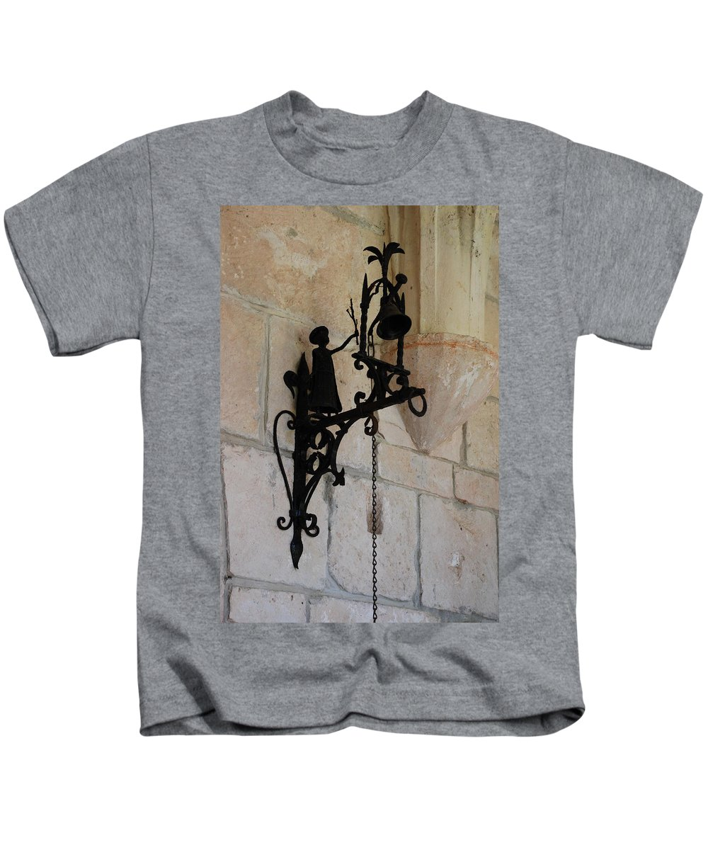 Architecture Kids T-Shirt featuring the photograph Miami Monastery Bell by Rob Hans