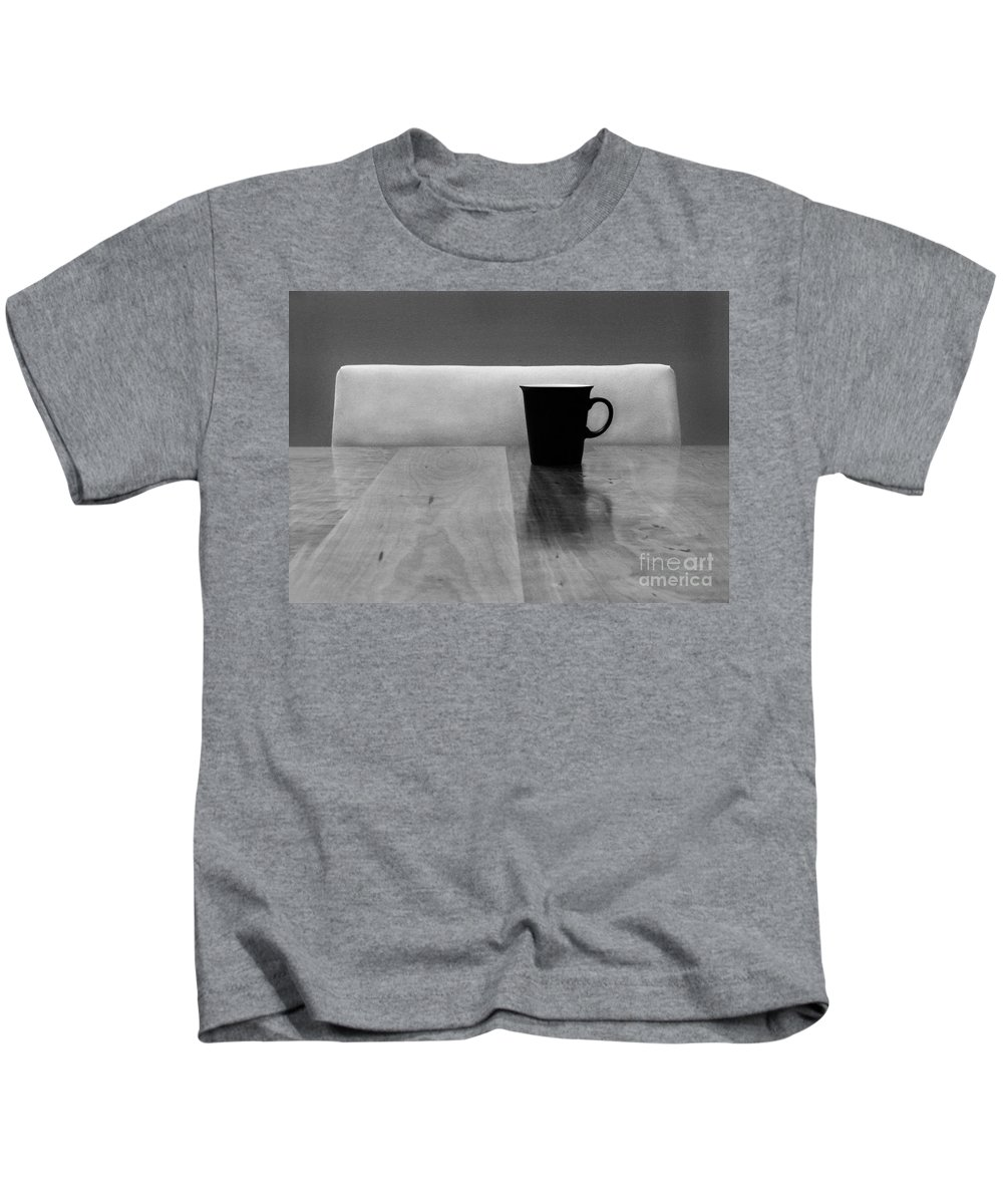Black Kids T-Shirt featuring the photograph Missing by Dana DiPasquale