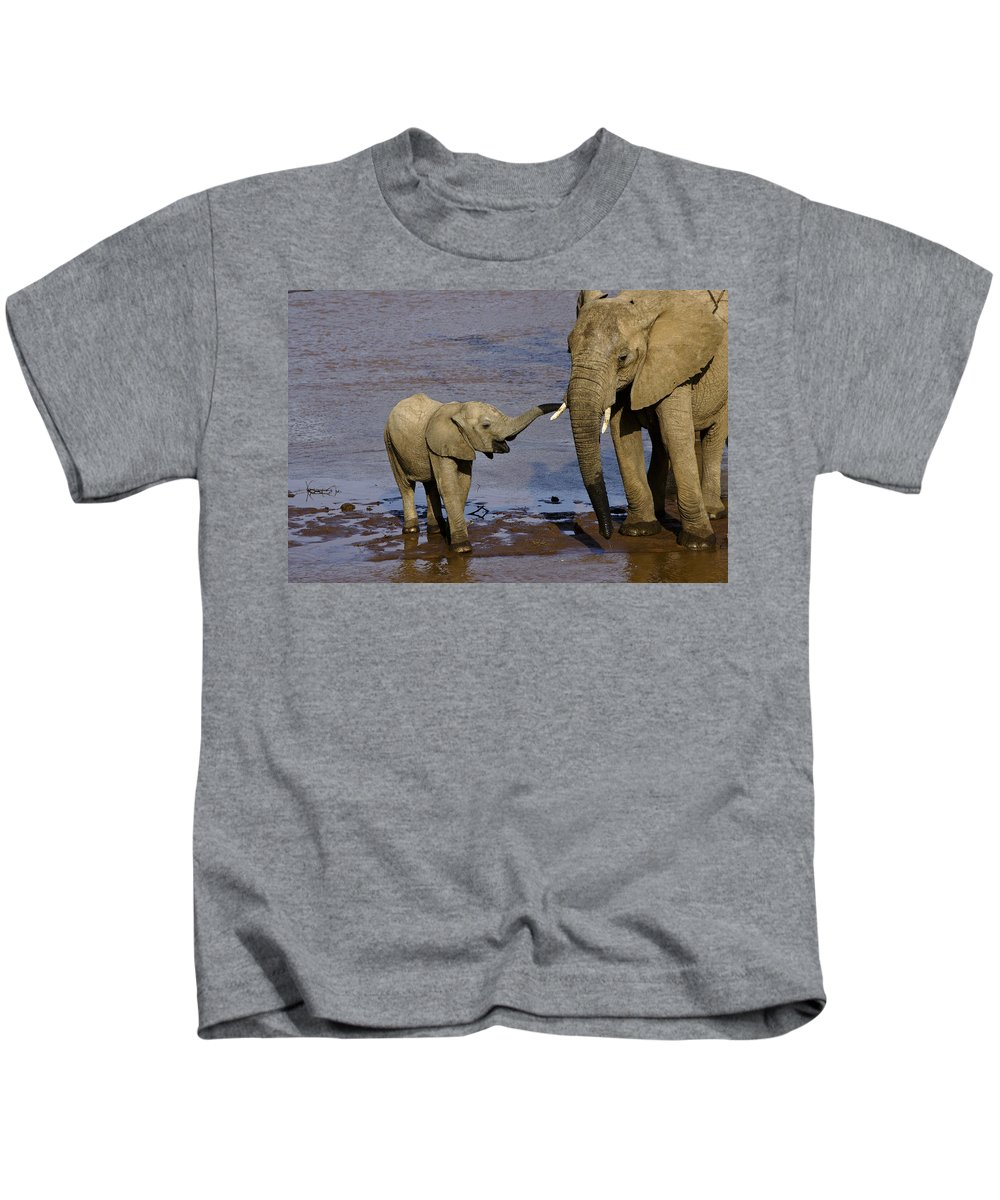 Africa Kids T-Shirt featuring the photograph This Is My Mother by Michele Burgess