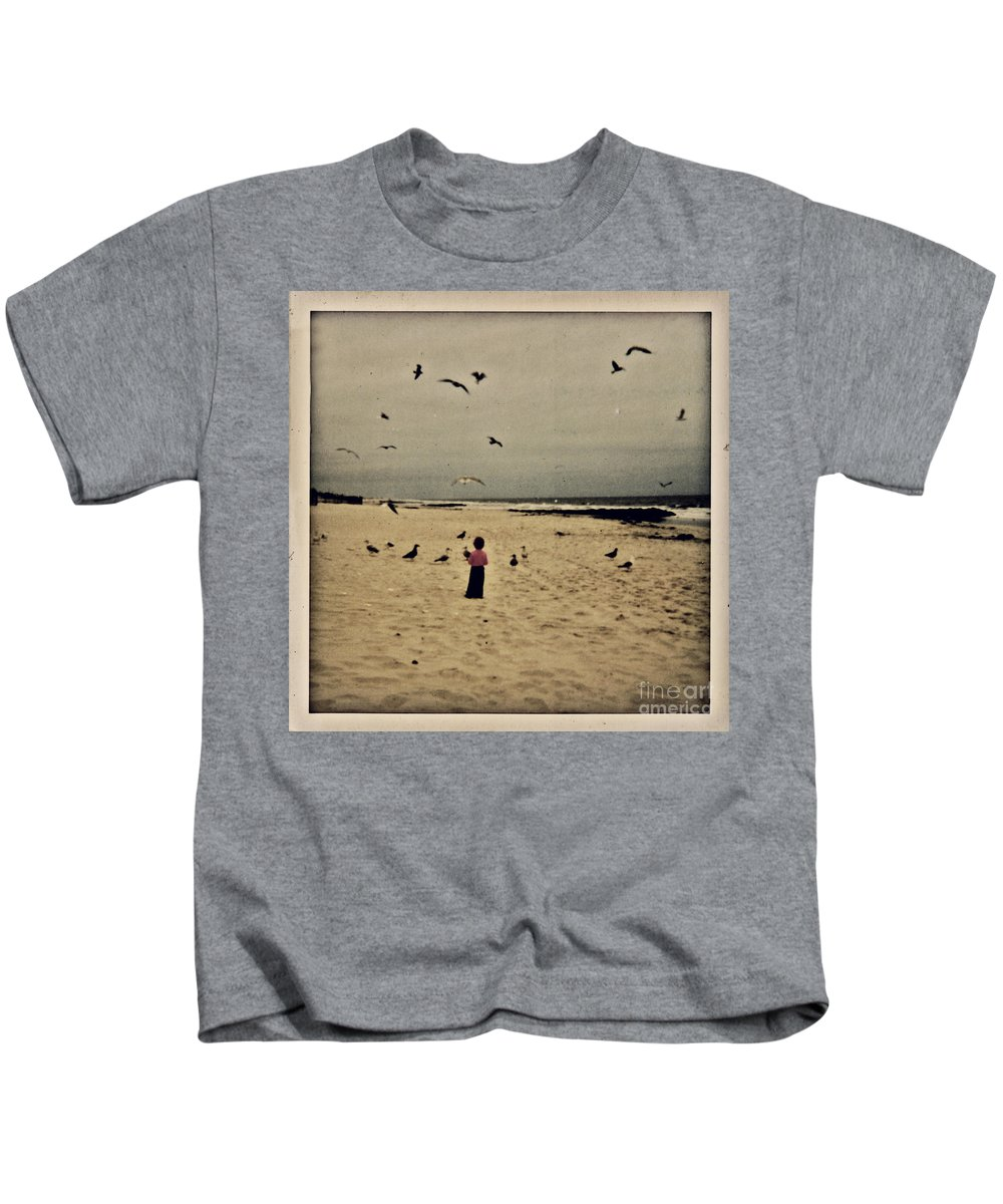 Ocean Kids T-Shirt featuring the photograph When Promises Were For Keeps by Dana DiPasquale