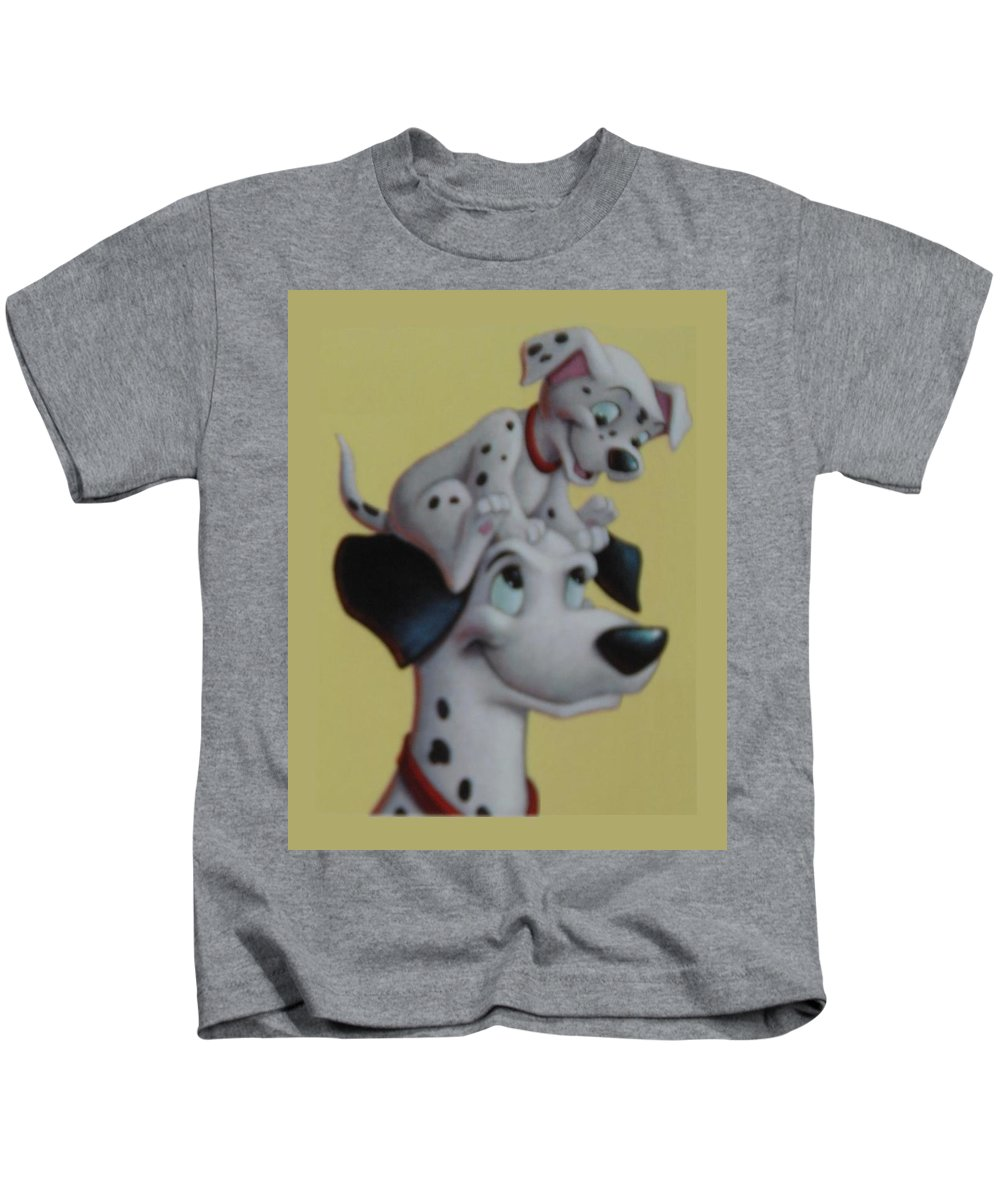 Disney Kids T-Shirt featuring the photograph 101 by Rob Hans