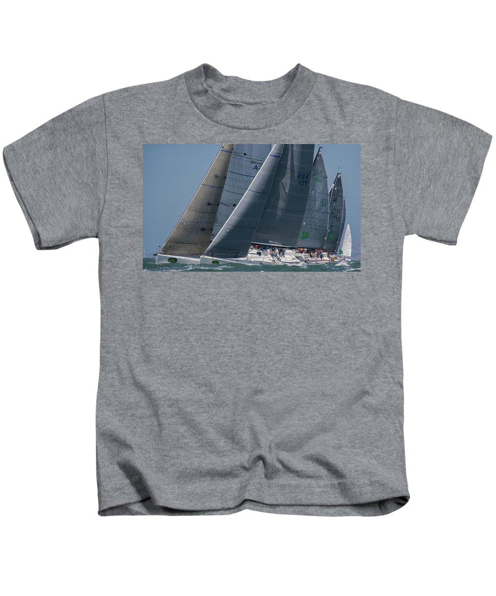 Rolex Kids T-Shirt featuring the photograph Rolex Bbs by Steven Lapkin