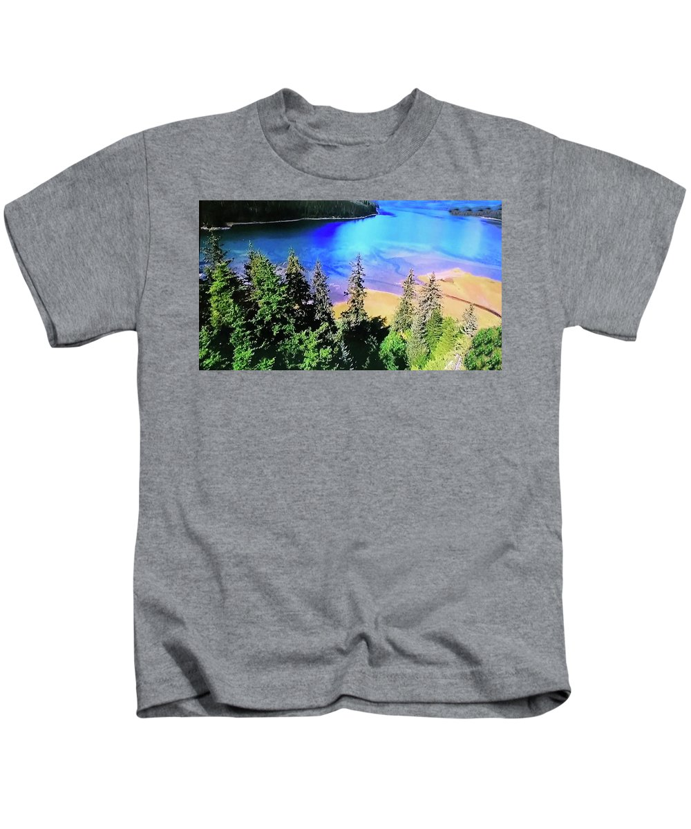 Kids T-Shirt featuring the photograph Photograph by Miriam Marrero