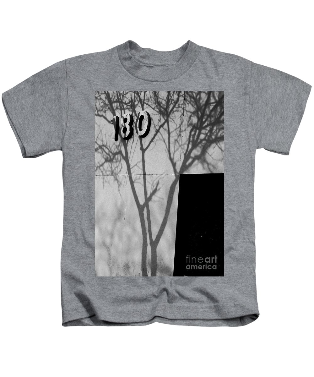 180 Kids T-Shirt featuring the photograph 180 by Chris Fleming