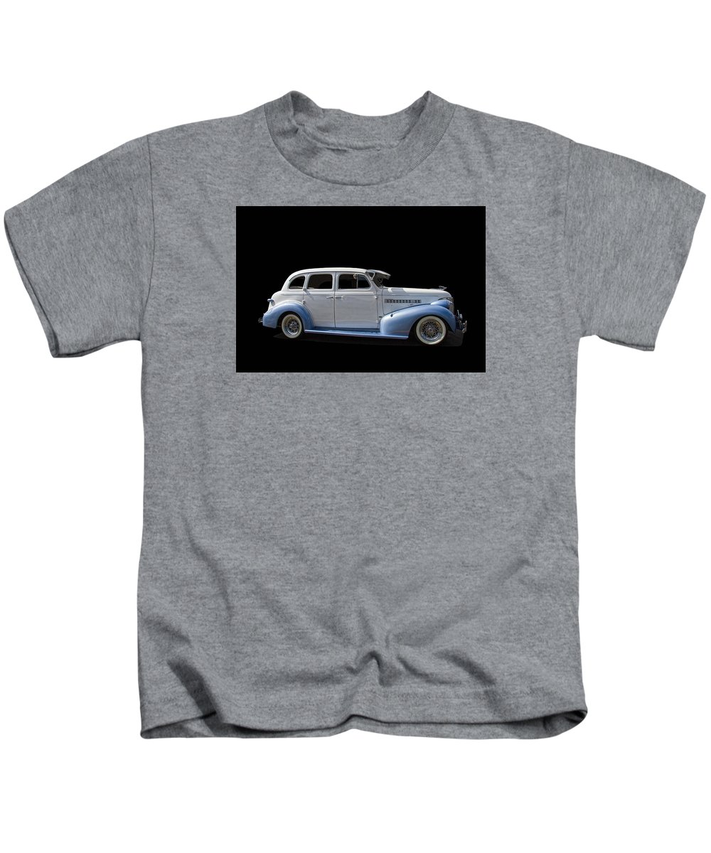 1939 Kids T-Shirt featuring the photograph 1939 Chevrolet by Nick Gray