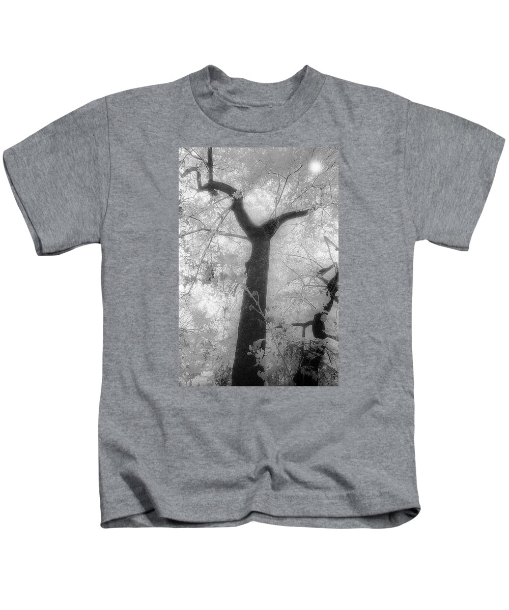 Delphi Kids T-Shirt featuring the photograph Castalia by Andonis Katanos