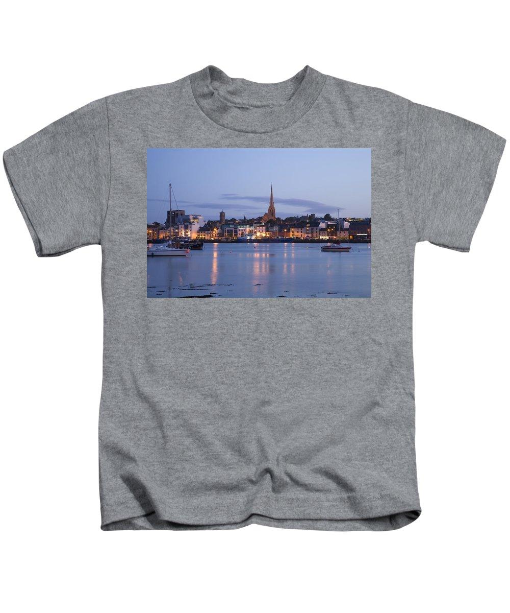 Coast Kids T-Shirt featuring the photograph Irish Dusk by Ian Middleton
