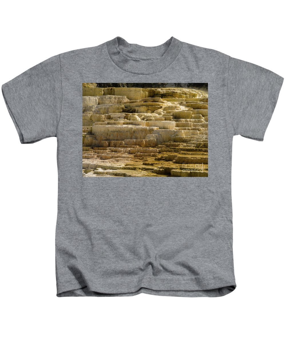 Minerva Terrace Kids T-Shirt featuring the photograph Minerva Terrace by Tracy Knauer