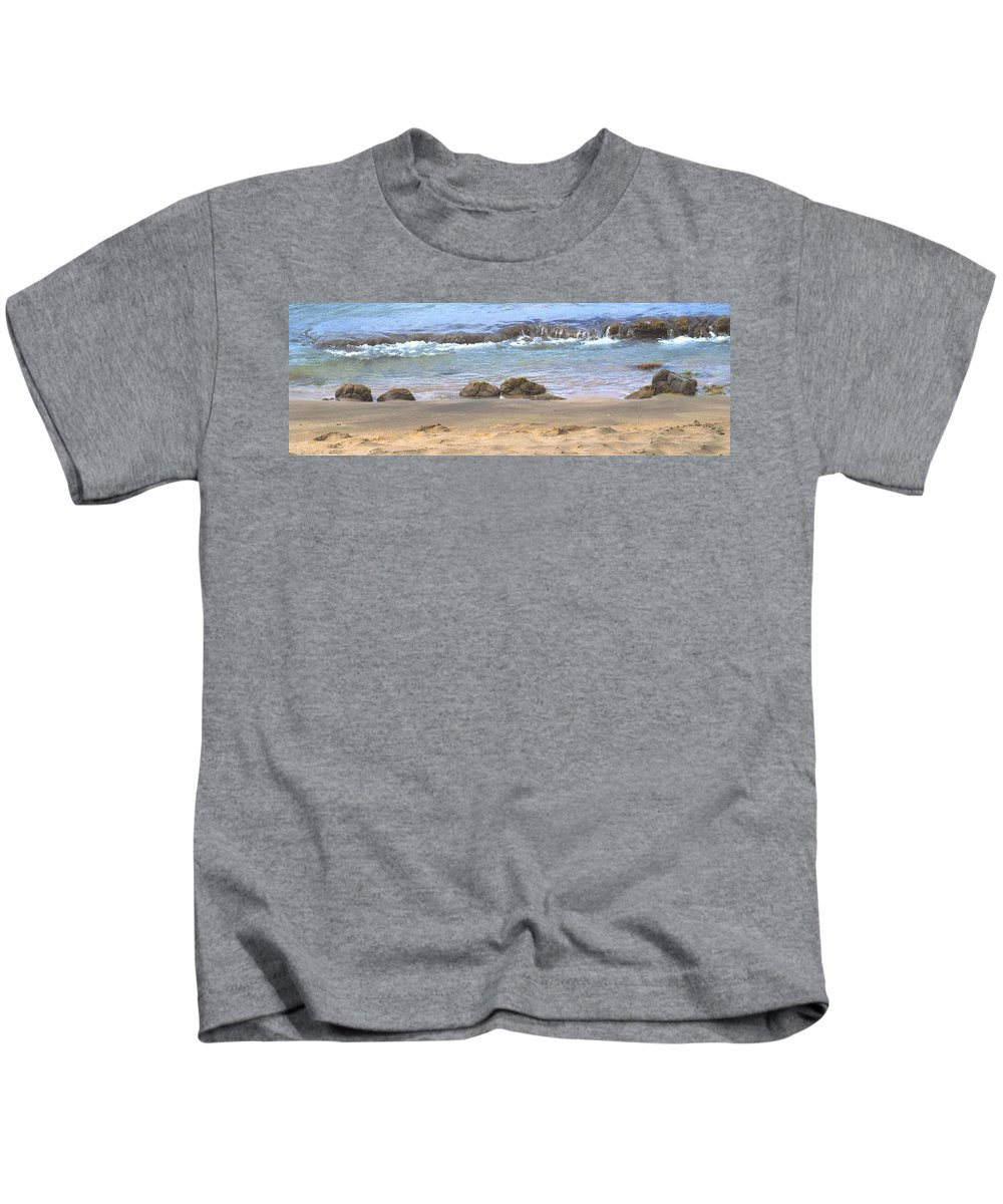 Ocean Kids T-Shirt featuring the photograph Tidal Pool by Ian MacDonald