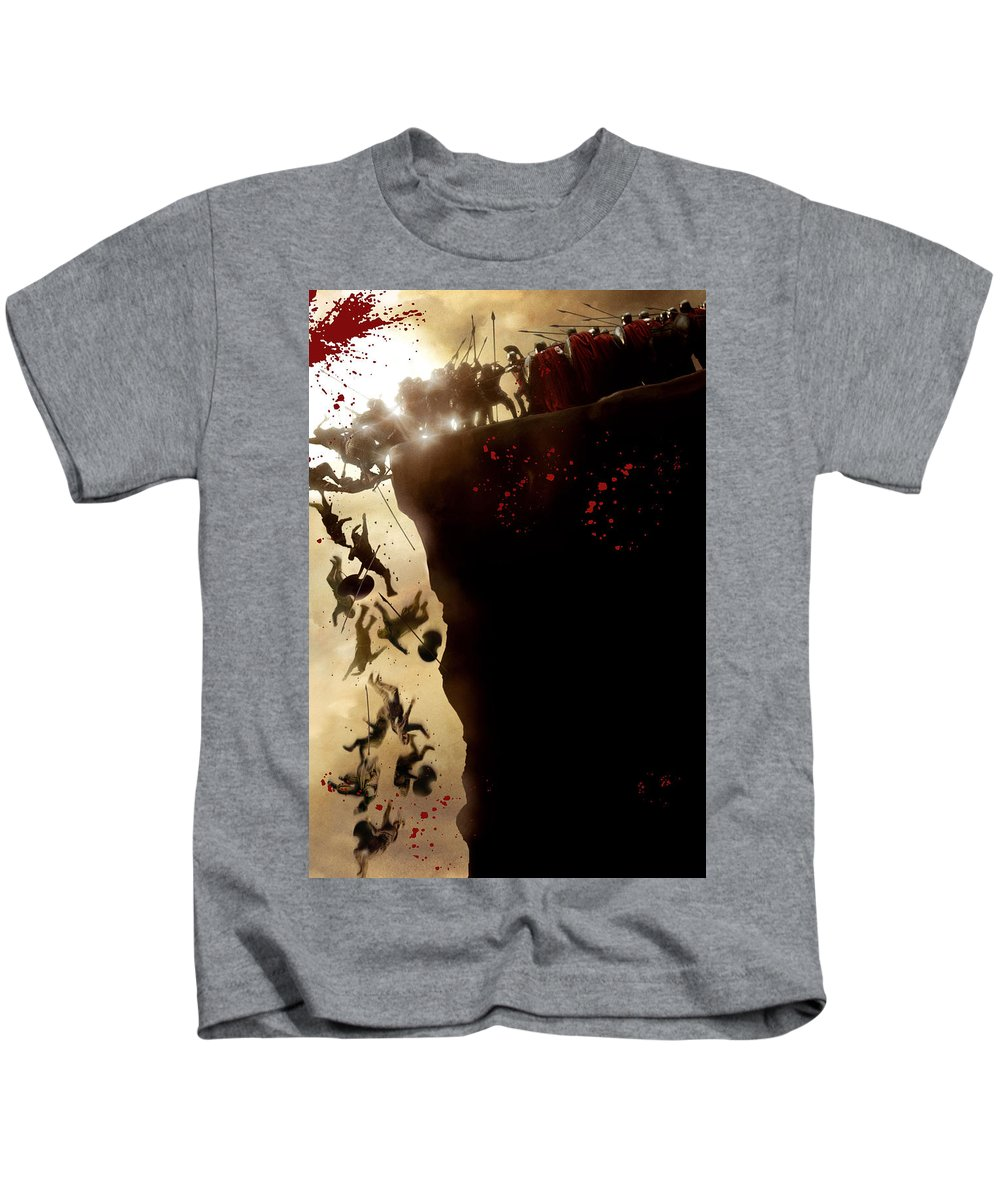 300 2006 Kids T-Shirt featuring the digital art 300 2006 by Geek N Rock