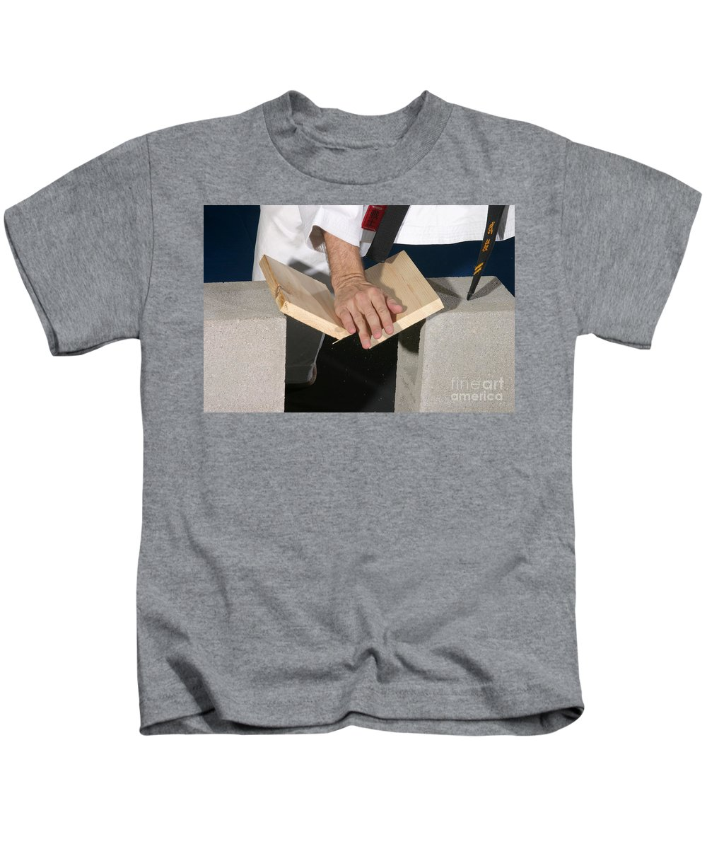 Karate Kids T-Shirt featuring the photograph Karate by Ted Kinsman