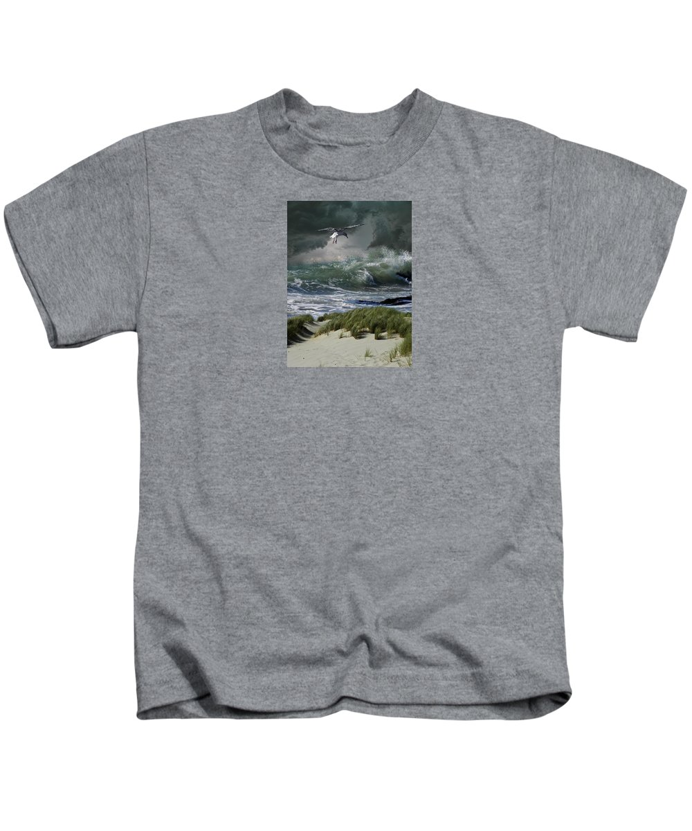 Animal Kids T-Shirt featuring the photograph 4135 by Peter Holme III