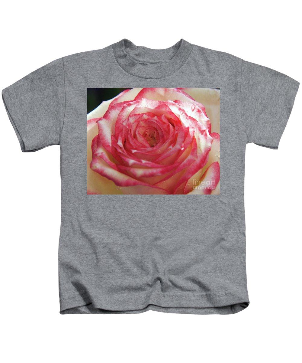 Flowers Kids T-Shirt featuring the photograph Nice Rose by Elvira Ladocki