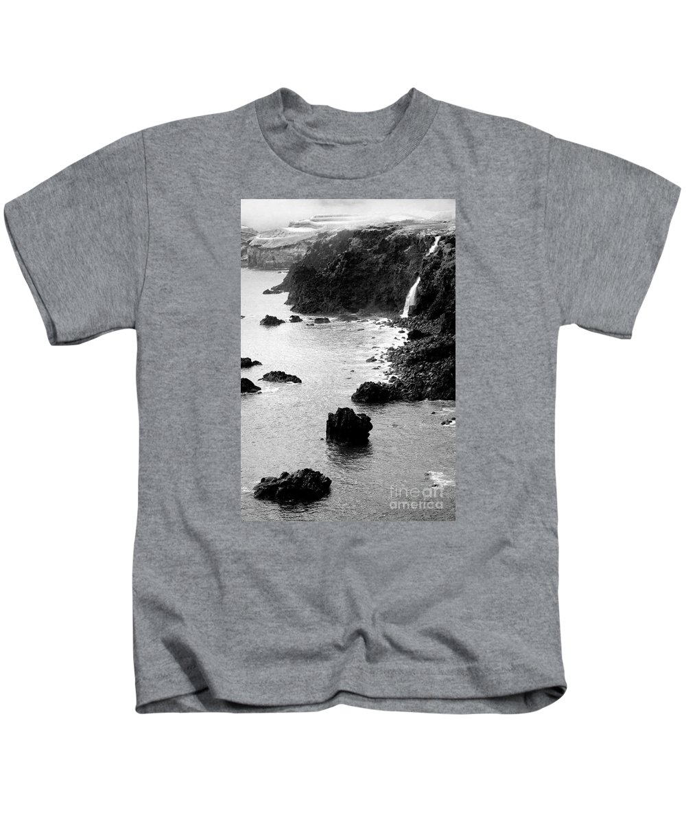 Savage Kids T-Shirt featuring the photograph Azores Coastal Landscape by Gaspar Avila