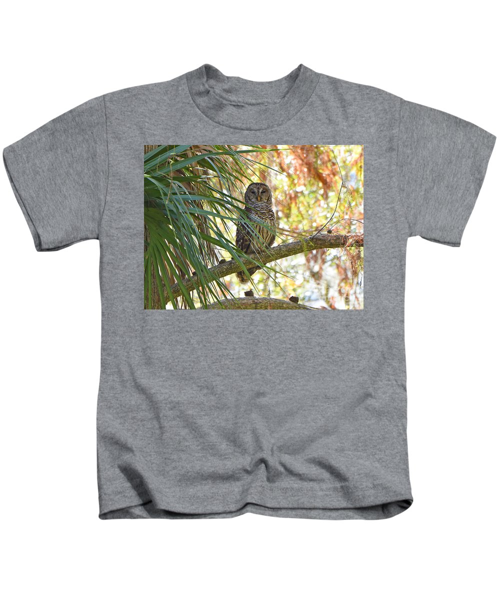 Kids T-Shirt featuring the photograph 6204 by Don Solari
