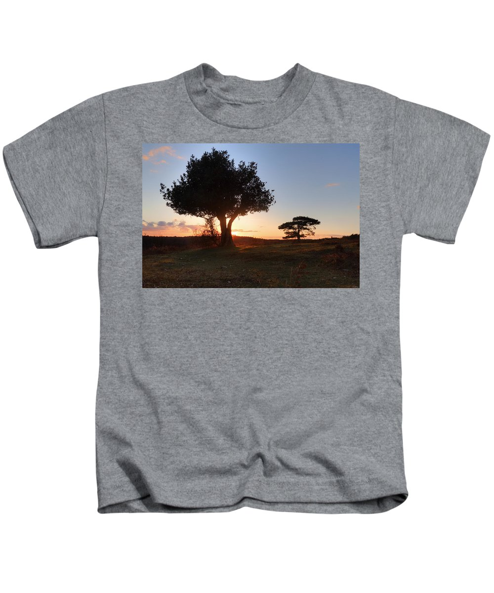 Bratley View Kids T-Shirt featuring the photograph New Forest - England by Joana Kruse