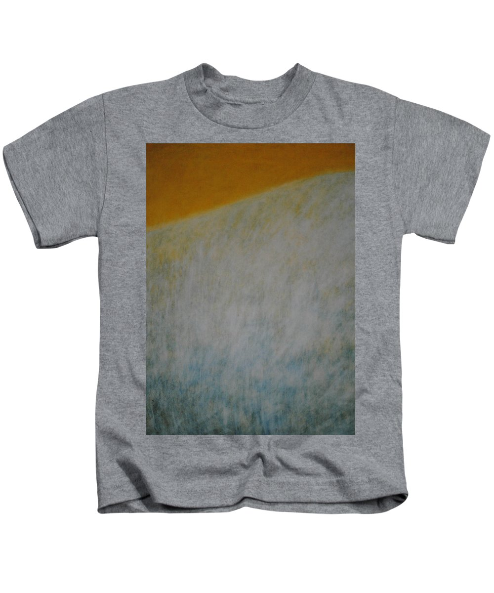 Contemporary Kids T-Shirt featuring the painting Calm Mind by Kyung Hee Hogg
