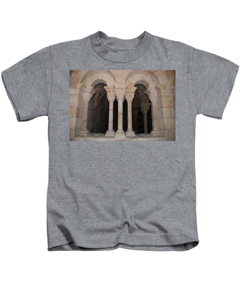 Arches Kids T-Shirt featuring the photograph Miami Monastery by Rob Hans