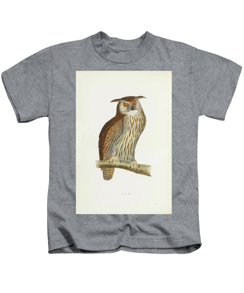 Zoologie - Ornithologie - Morris Kids T-Shirt featuring the painting A History Of British Birds. by Zoologie