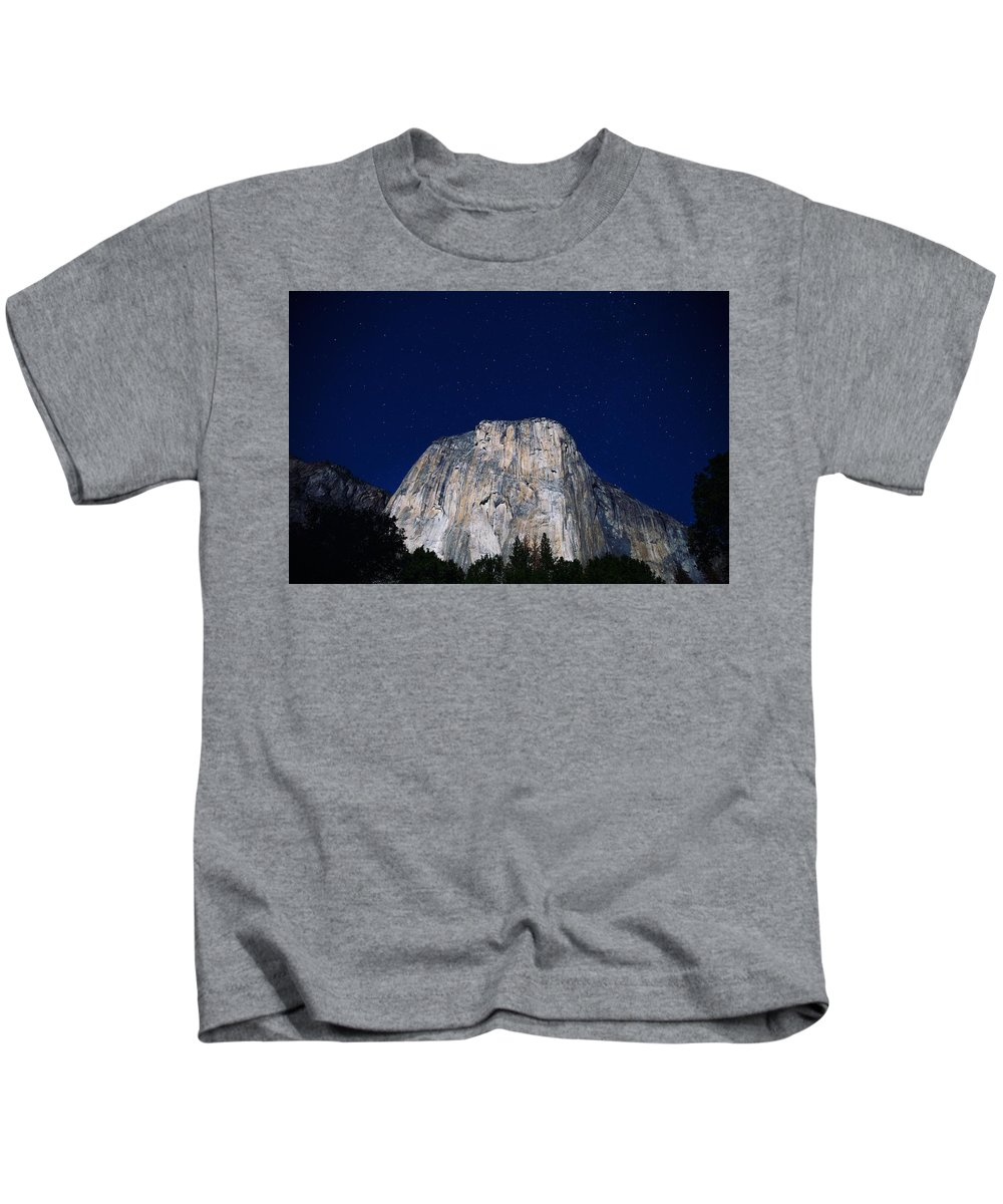 Blue Kids T-Shirt featuring the photograph A Night So Perfect by Happy Home Artistry