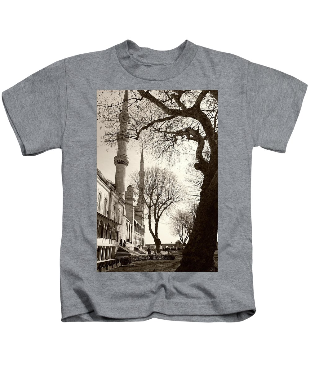 Suburb Kids T-Shirt featuring the photograph A View From Blue Mosque by Malik Avunduk