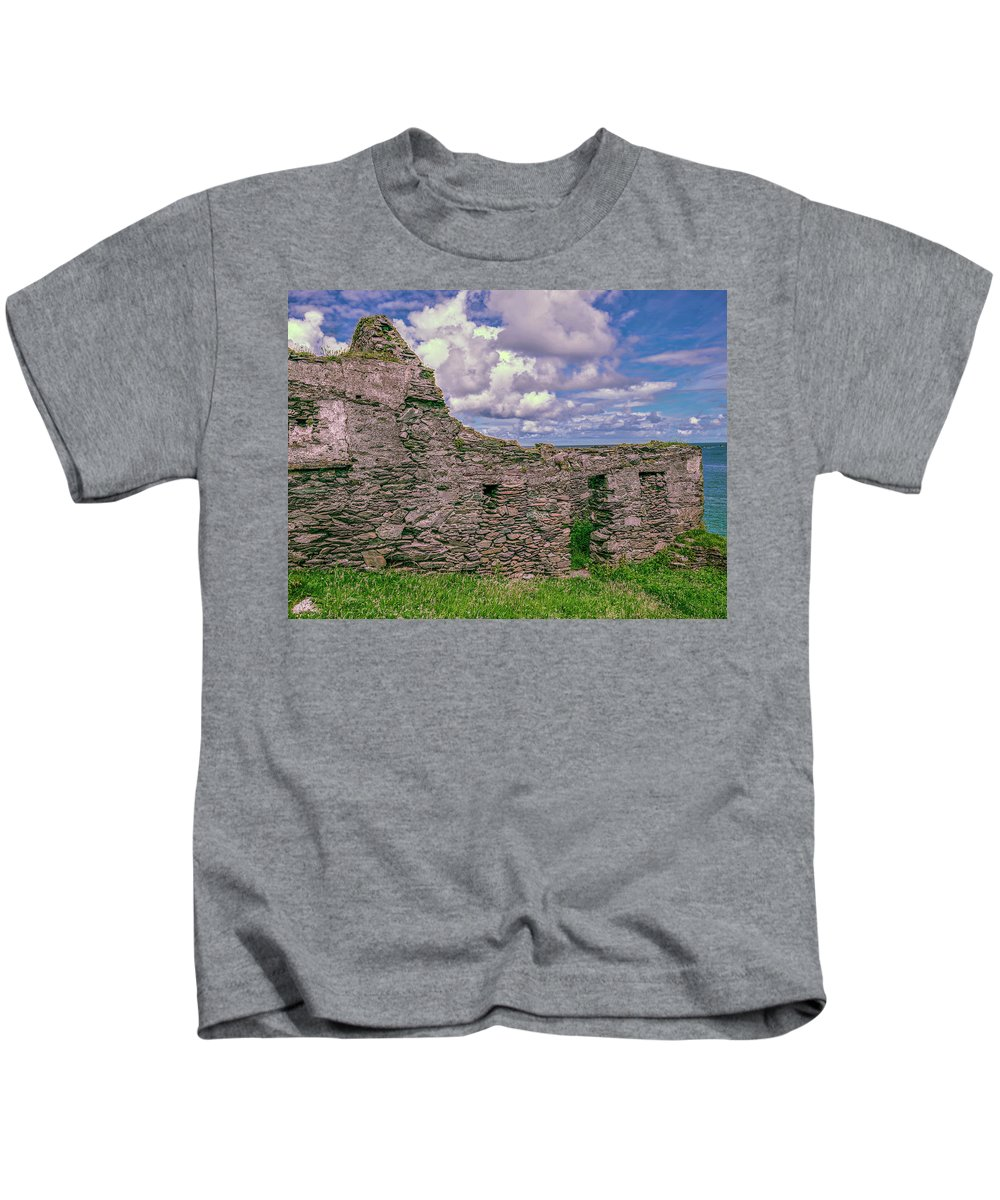 Sea Kids T-Shirt featuring the photograph Abandoned 5. by Leif Sohlman