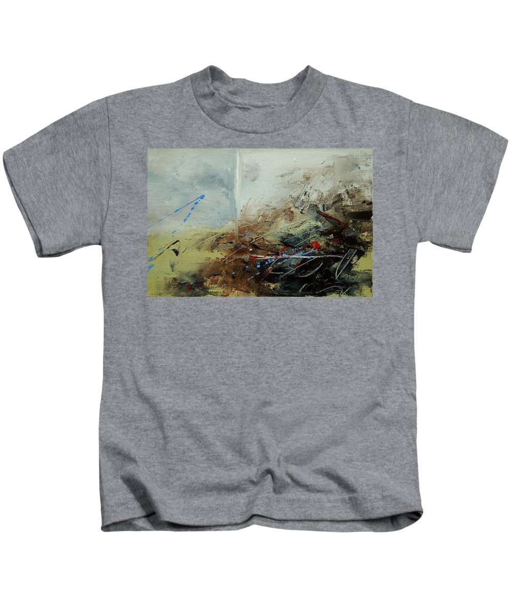 Abstract Kids T-Shirt featuring the print Abstract 070408 by Pol Ledent