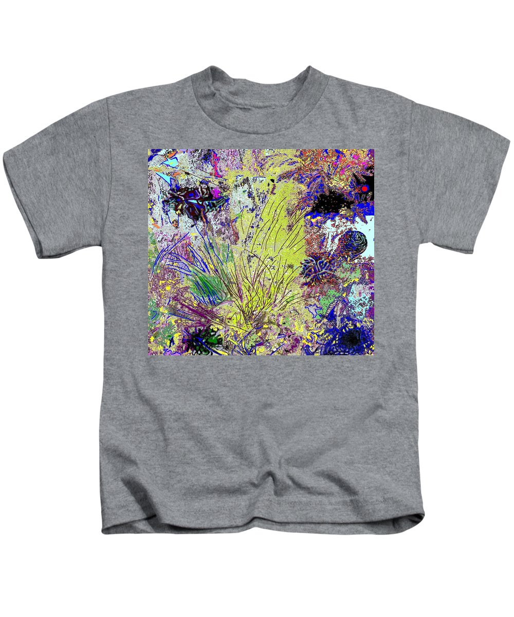 Abstract Kids T-Shirt featuring the photograph Abstract Musings by Ian MacDonald