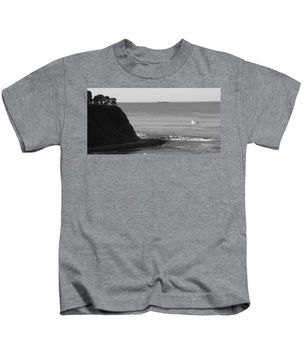 Ocean Kids T-Shirt featuring the photograph Adrift by Shari Chavira