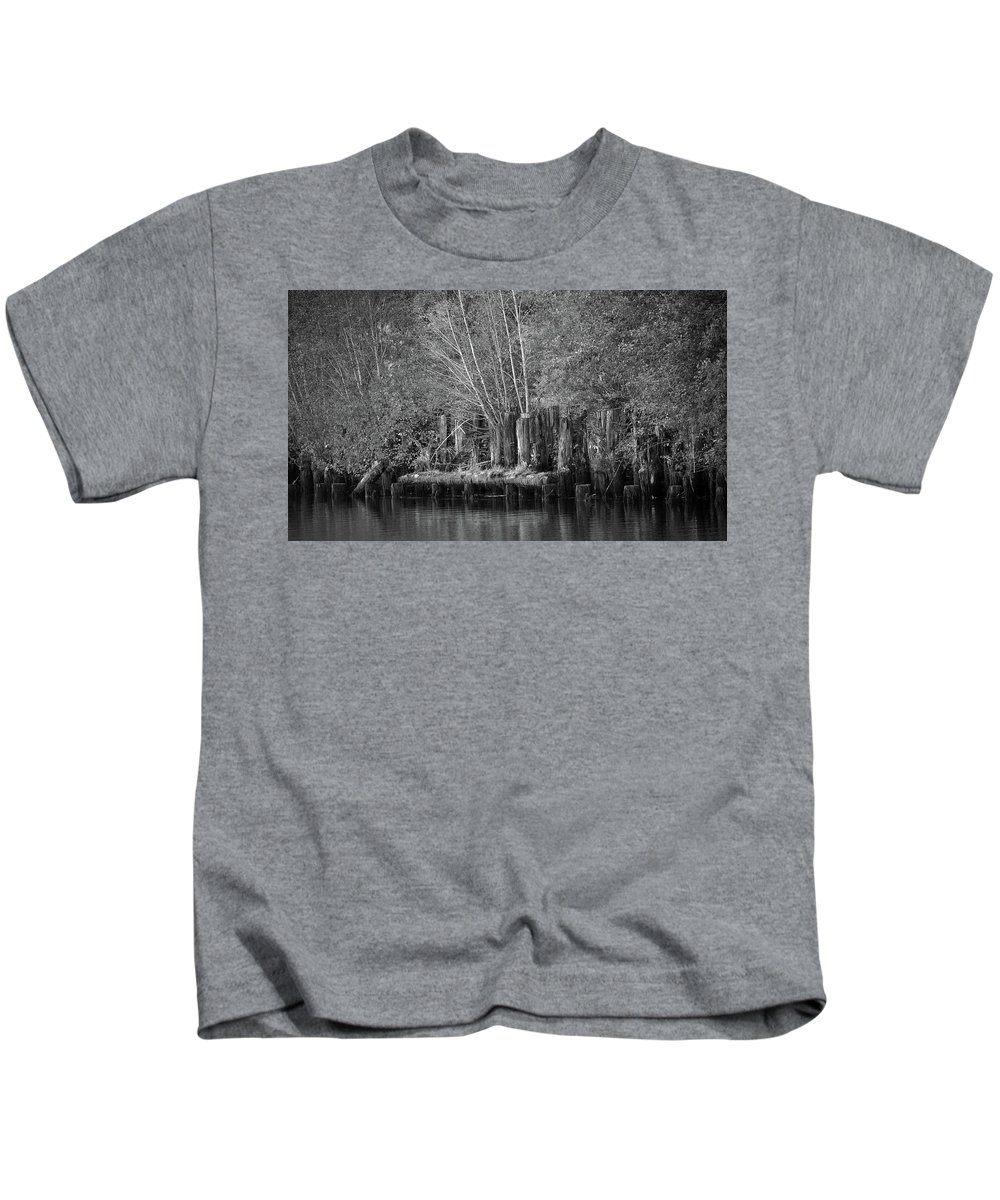Idaho Kids T-Shirt featuring the photograph Along The St. Joe by Whispering Peaks Photography