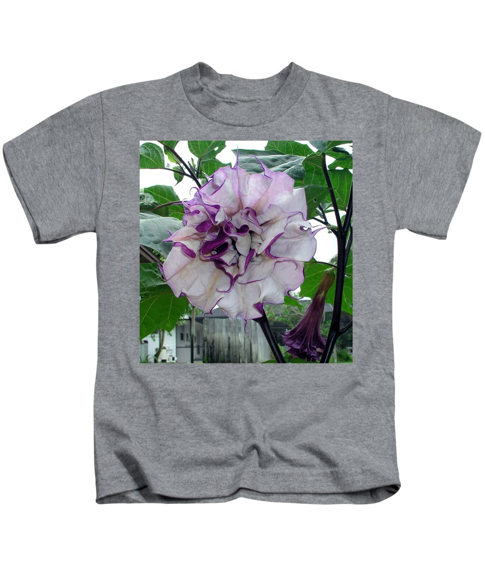 Angel Kids T-Shirt featuring the photograph Angel by Allan Hughes