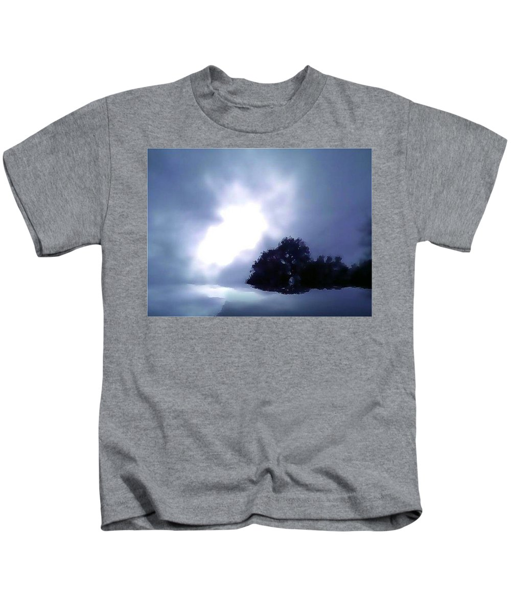 Kids T-Shirt featuring the photograph Angel Of The Presidio by Amber Stubbs